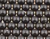 6mm SWAROVSKI® ELEMENTS Mystic Black Crystal Pearl Beads - 50 pearls for jewellery making, beadwork and craft